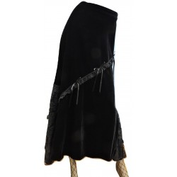 LSKMI03 PHAZE VELVET LONG SKIRT