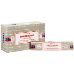 SATYA SAIBABA-WHITE SAGE sticks 15gr