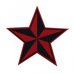 RED BLACK STAR
