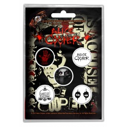 ALICE COOPER BADGE PACK