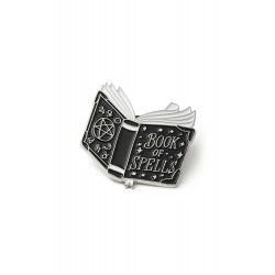 BOOK OF SPELLS PIN KILLSTAR