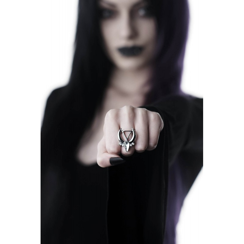 KILLSTAR Moon Water Ring