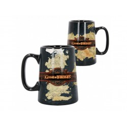 Ceramic Map Tankard  Game of Thrones