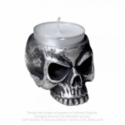 V74 Skull - Tea Light Holder