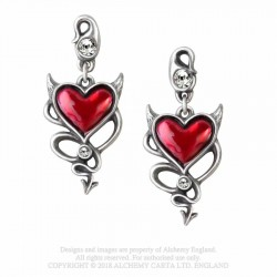 ULFE22 Devil Heart studs...
