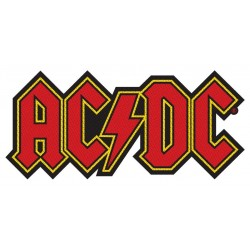 ACDC LOGO CUT OUT