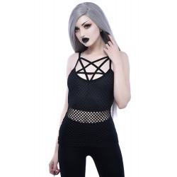Witchnet Strap Top