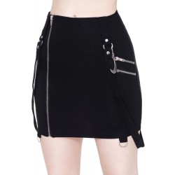 Adele Mini Skirt BLACK