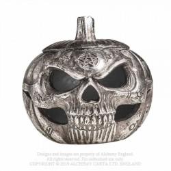V93 Pumpkin Skull Pot
