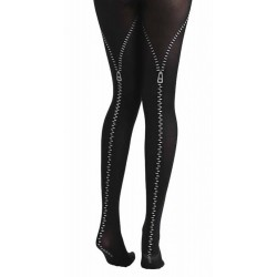 Flocked Tights Zips...