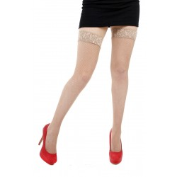 Fishnet Lace Top Hold Ups...