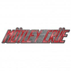Motley Crue 'Logo' Metal...