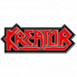 Kreator 'Logo' Metal Pin Badge