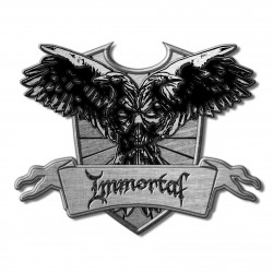 Immortal 'Crest' Metal Pin...