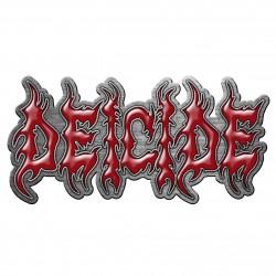 Deicide 'Logo' Metal Pin Badge
