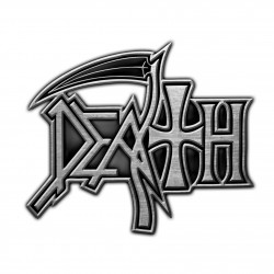 Death 'Logo' Metal Pin Badge