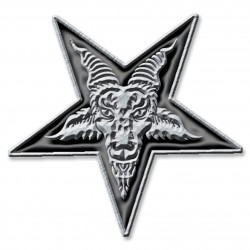 'Pentagram' Metal Pin Badge