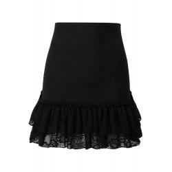 Adoria Bustle Skirt Black
