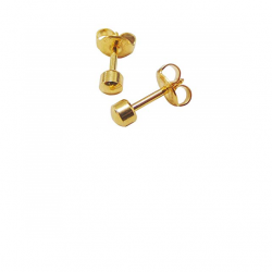 CAFLON1 SMALL BALL GOLD PLATED