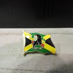 PIN9 BOB MARLEY  FLAG...
