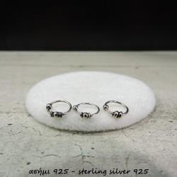 SSRNOSE47 silver 925 nose...