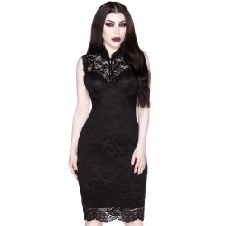 Laced-Up Bodycon Dress