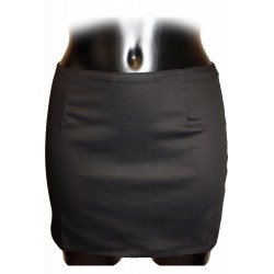 LMIMA04 canvas mini skirt