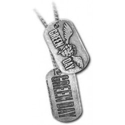 GREEN DAY DOG TAG