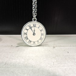 FNK0037 VINTAGE NECKLACE CLOCK