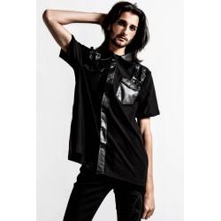Daze Button-Up Shirt Black