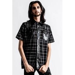 Daze Button-Up Shirt ASH...