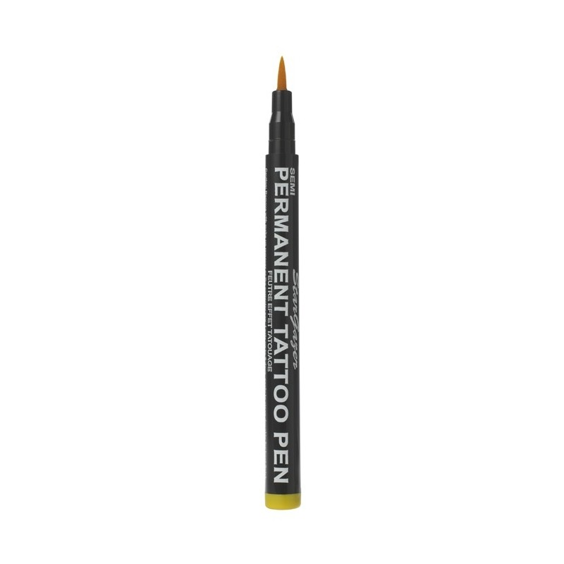 TATOO PEN SEMI PERMANENT YELLOW