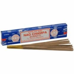 NAG CHAMPA AGARBATTI -  ΜΠΛΕ-15gr.