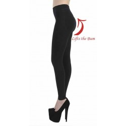 120 DENIER SLIMMING LEGGINGS BLACK