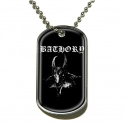 BATHORY GOAT DOG TAG