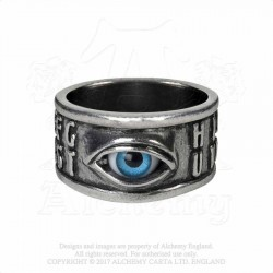 R215 OUIJA EYE RING